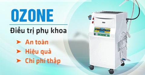 chữa viêm âm đạo bằng ozone